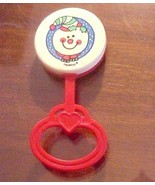 Christmas Snowman Baby Rattle PlaySkool 1989 - $3.00