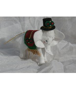 2008 Annalee Felt White Elephant Christmas Orna... - $4.99