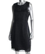 $448 Elie Tahari black silk eyelet dress 10 NWT - $124.95