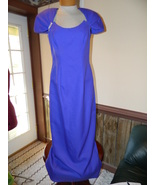 Purple Formal Prom Pageant Cruise Bridesmaid dr... - $32.99