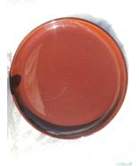 Watt Pottery Plate, Brown Cabinart, 10 Inch Din... - $29.99