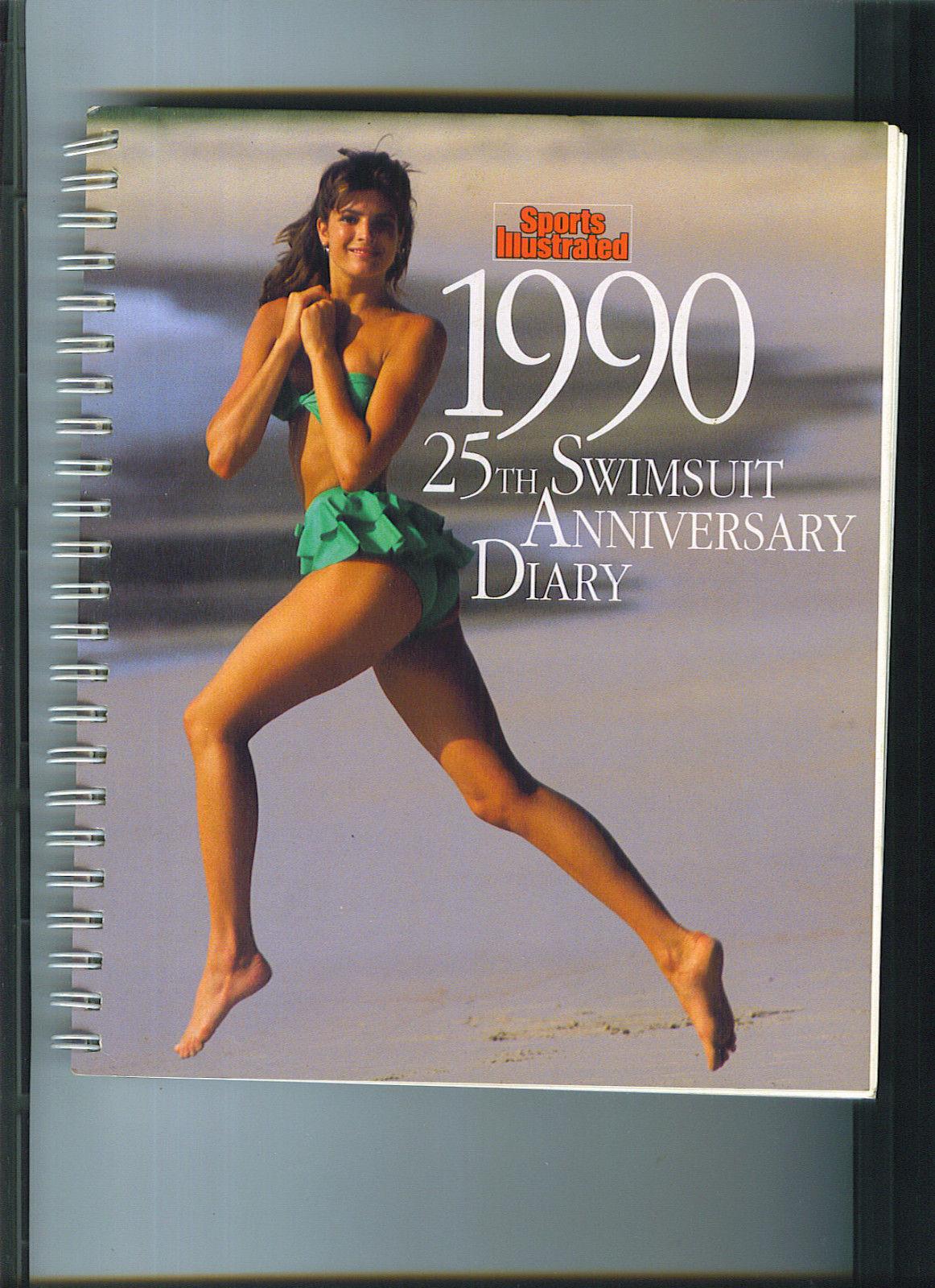 1990 Si Swimsuit Desk Calendar Kathy Ireland Stephanie