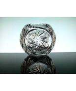 Elegant Crystal Star Spinner Votive Candle Bowl... - $9.99