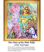 The Fairy of the Pink Tulip,  Fantasy Counted C... - $20.00