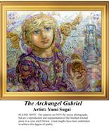 The Archangel Gabriel,  Angel Counted Cross Sti... - $20.00
