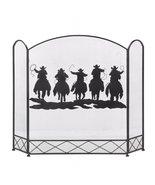 Western Cowboys Fireplace Screen - $80.00