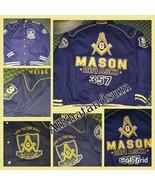 Freemason Mason Masonic Blue Gold Long sleeve t... - $129.99