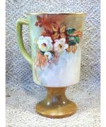Hand Painted Porcelain Mug - Artist Signed Hele... - $23.49