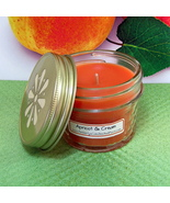 Apricot and Cream PURE SOY 4 oz. Jelly Jar Candle - $5.50
