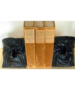 Arts and Crafts Period Wood Mask Drama Bookend... - $295.00