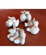 Antique Chinese Miniature Ceramic Fruit Figures... - $155.00