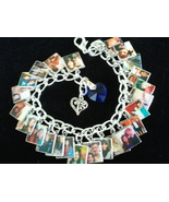 3X CUSTOM PHOTO Charm Bracelets for bonzbuyer_a... - $71.97