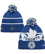 Cap Toronto Maple Leafs Knit Youth Hat NHL 2014... - $44.54
