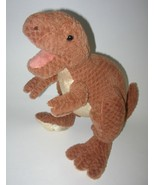 Prehistoric Pals Dinosaur T Rex Brown Plush Stu... - $17.99