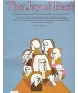 The Joy of Bach Edited by Denes Agay Solo Piano - $12.95