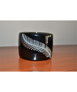 New $525 MIRIAM SALAT Black Sterling Silver Res... - $256.66
