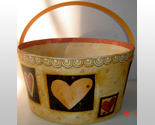 "Buy Gift Boxes - 8.75"" Hearts Gift Box by Bob's Boxes / Lang"