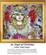 An Angel of Christmas, Angel Counted Cross Stit... - $20.00