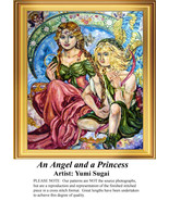 An Angel and a Princess, Angel Counted Cross St... - $20.00
