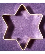 Star of David cookie cutter - $5.00