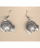Zuni SPIRIT BEAR EARRINGS-Native American India... - $6.97