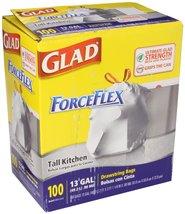 Glad Drawstring Forceflex Tall White Kitchen Ba... - $37.99