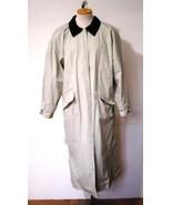 MISTY HARBOR Women's Tan Polyvinyl Plaid Cotton... - $13.71