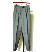 BARRY BRICKEN B/W Wool Career Slacks Pants Lined 2 - $9.79