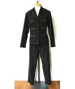 FASHION BUG  Women's Olive Green Pant Suit Sati... - $13.71