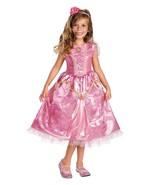 Deluxe Princess Aurora Pink Sparkle Girl Dress/... - $39.99