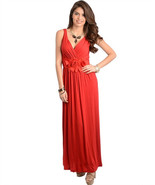 Sexy Party Cocktail Club Cruise Maxi Dress w/Fa... - $32.99