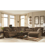 DUBLIN-6pcs CHENILLE POWER RECLINER SOFA COUCH ... - $2,545.85