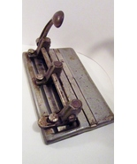 Steel Three Hole Punch 1950s Master 1000, Made ... - $49.99