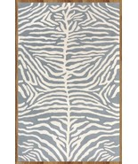 Blue Zebra 100% Wool, 2000-Now, 5' x 8' and Ani... - $211.65