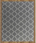 MODERN TRELLIS GRAY 8' x 10' CONTEMPORARY STYLE... - $509.00