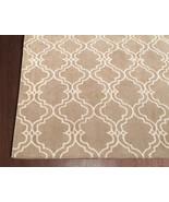 Trellis Scroll Mocha 5' x 8' Handmade Persian S... - $211.65