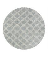 Modern Scroll Tile Porcelain Blue 8' x 8' Round... - $509.00