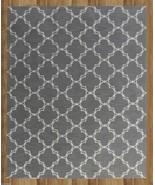 MODERN TRELLIS GRAY 5' x 8' CONTEMPORARY STYLE ... - $211.65