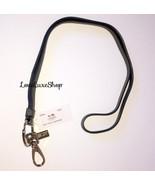 RARE Coach Leather Lanyard W/ Swivel Claw Grey ... - $88.00