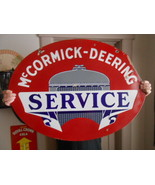 Vintage Sign McCormick-Deering Service Double S... - $2,160.10