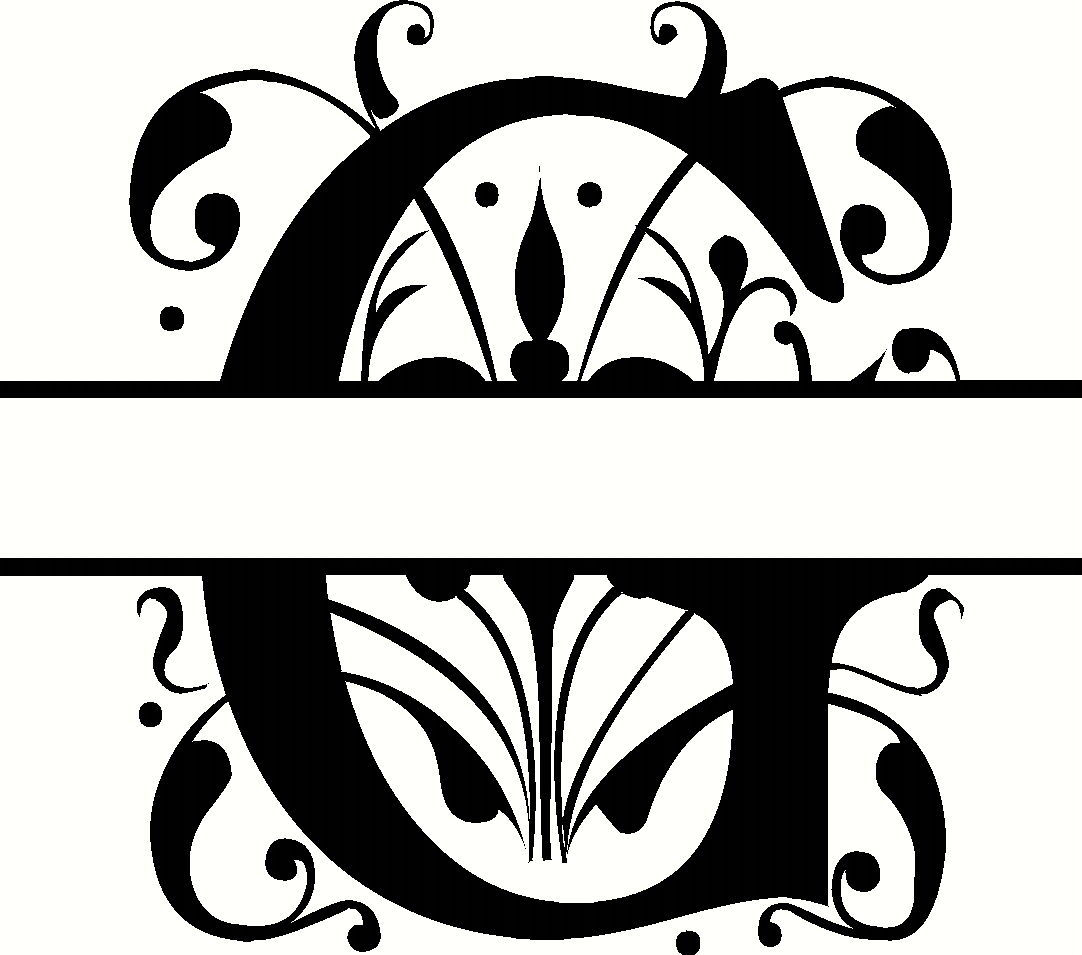 personalized monogram initial letter g family wall quote vinyl art christmas decals stickers. Black Bedroom Furniture Sets. Home Design Ideas