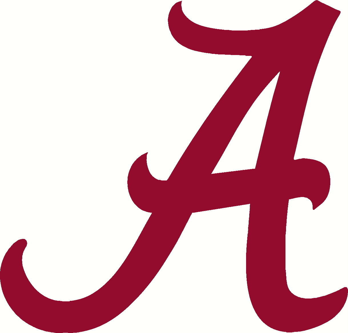 Alabama A Decal Sticker Crimson Tide Roll Tide 24 Quot Auto