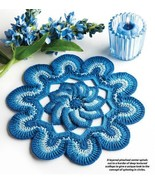 W924 Crochet PATTERN ONLY Spinilicious Doily Ci... - $7.45