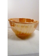 Fire King Mixing Bowl Peach Lustre Large 9 inch... - $19.99