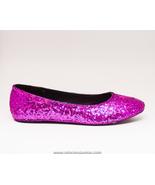 Tiny Sequin | Fuchsia Hot Pink Slipper Ballet F... - $39.99