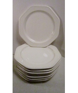 8 Sears China Dessert or Salad Plates, Octagon ... - $29.99