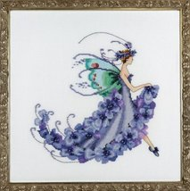 Wisteria Pixie Blossom Colletion NC199 cross st... - $11.70