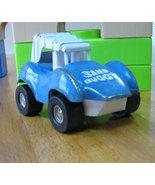 Vintage Blue Metal Topper Sand Buggy - $12.99
