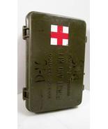 Desert Storm era US Military First Aid Kit OD P... - $14.99