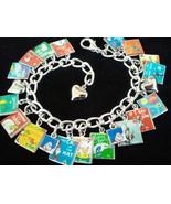 DR SEUSS Charm Bracelet 17 Classic Dr Seuss Boo... - $23.99